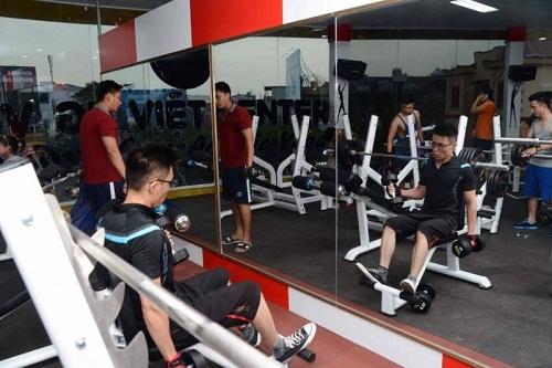 phòng tập gym dáng việt