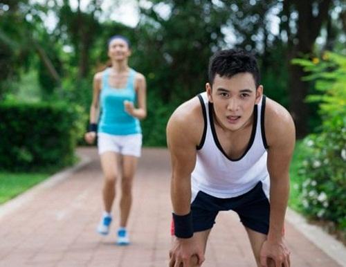 cách thở khi chạy bộ