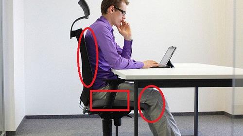 hay bị tê chân khi ngồi